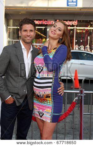 LOS ANGELES - JUN 30:  Kyle Martino, Eva Amurri Martino at the