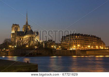 Notre Dame, Paris, Ile-de-france, France