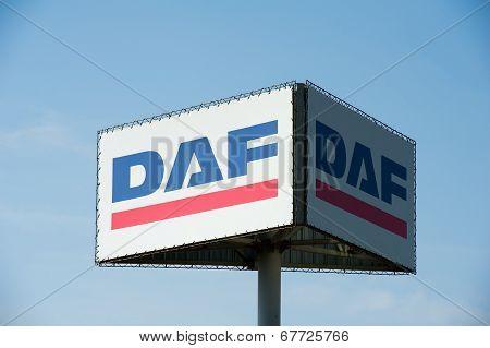 DAF sign