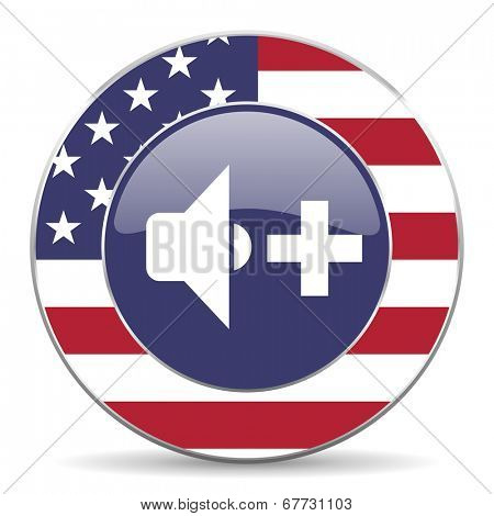 speaker volume american icon