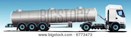 Tanker semi-trailer Truck