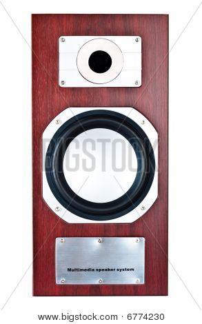 Brown Speaker System Front