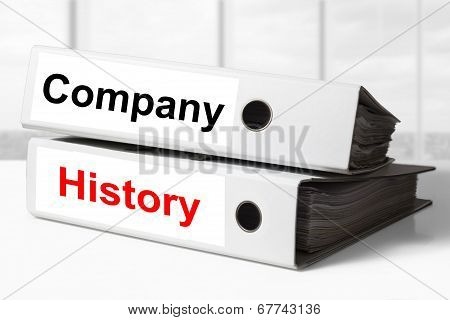 Company History Office Binders