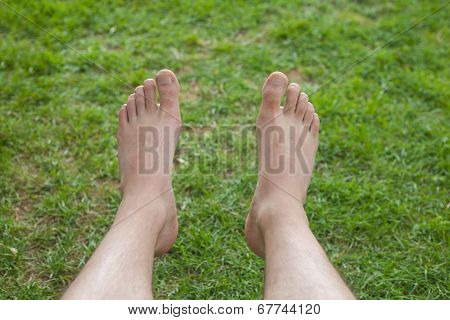 Self Feet Photo