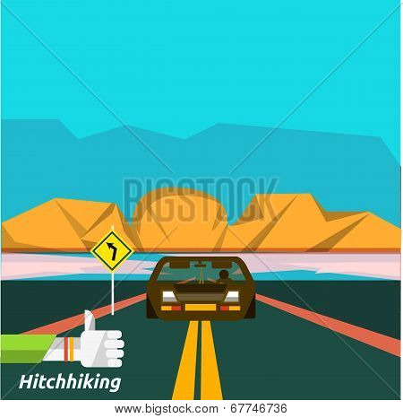 Hitchhiking Tourism