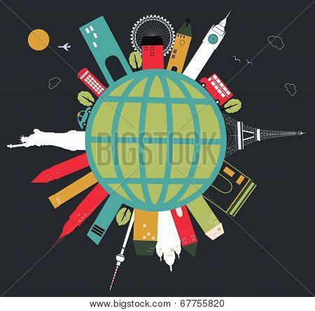 Travel Globe.