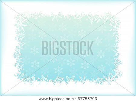 Abstract blue - white background