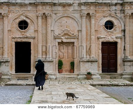 Arkadi Monastery, Crete Greece