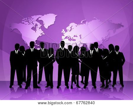 Business People Represents Meeting Teamwork And Professional