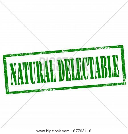 Natural Delectable-stamp