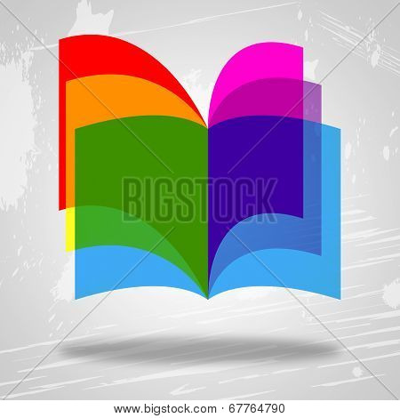 Books Education Represents Study Fiction And Schooling