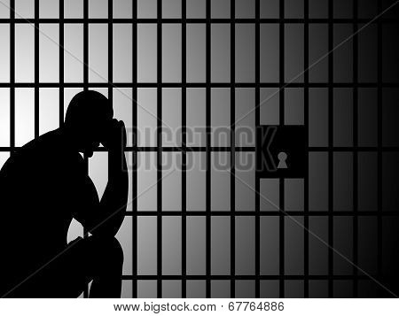 Copyspace Jail Represents Take Into Custody And Blank