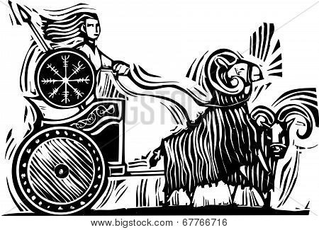 Norse Goddess Frigg