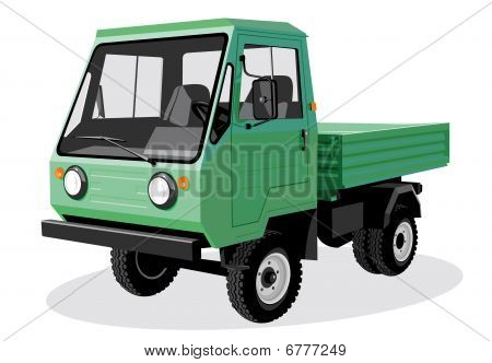 Green lorry