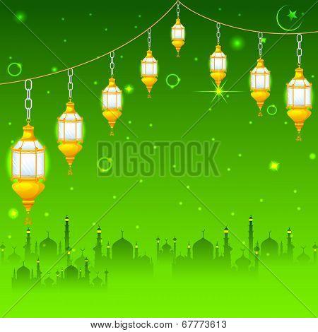 Eid Mubarak (Happy Eid) background