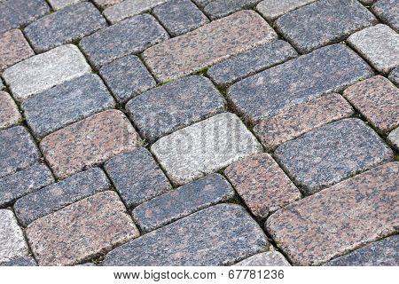 Stone Pavement Background