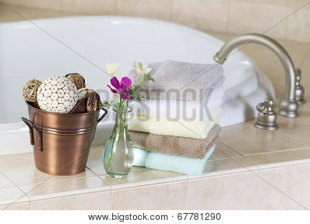 Bath With Spa Accessories