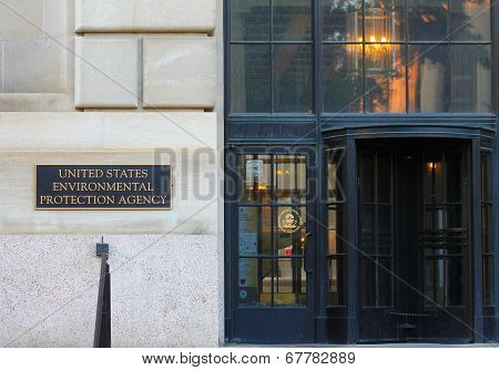 EPA Entrance in DC