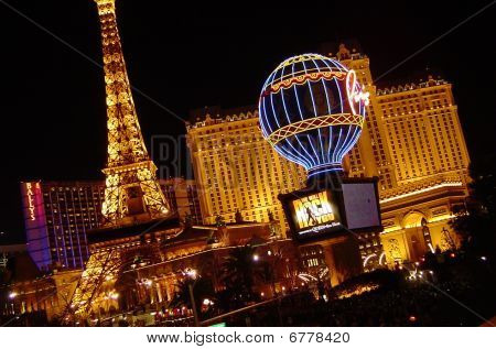 The Glitz and Glamor of Las Vegas