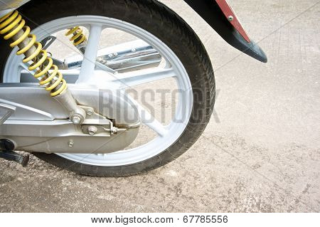 Magnesium Alloy Wheel Of Motorcycle And Shock Absorber