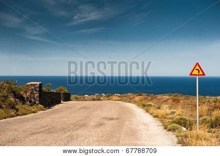Beautiful Road To The Seacoast