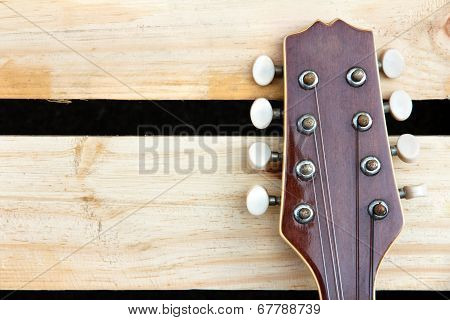 mandolin headstock background
