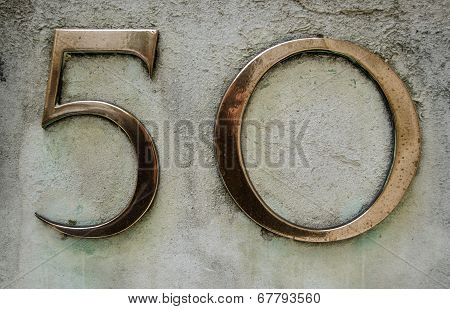 Brass number fifty