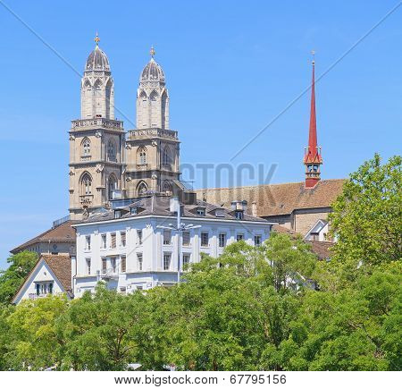 The Great Minster Cathedral Towers