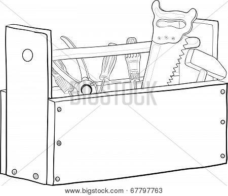 Tool box, contours