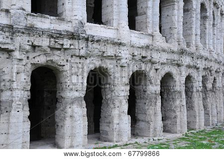 Part Of Theater Of Marcellus