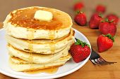 Постер, плакат: Breakfast pancakes