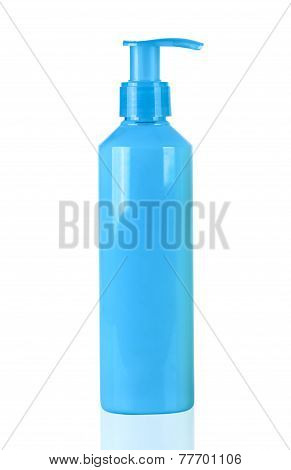 Blue Neon Lotion Bottle