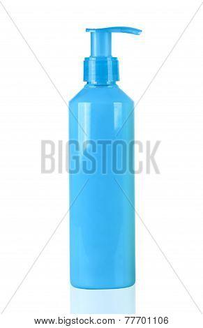 Blue Neon Lotion Bottle