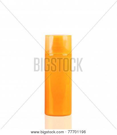 Orange Neon Lotion Bottle