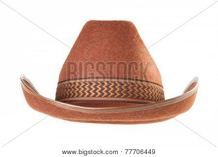cowboy hat isolated on white background
