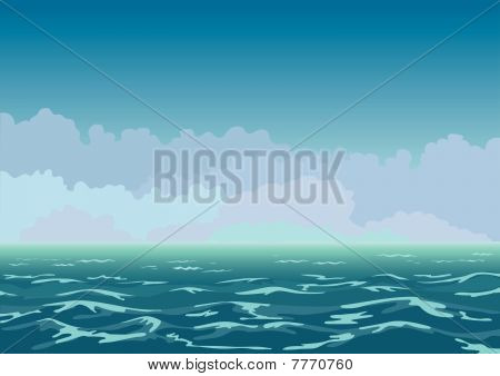 Lumpy sea