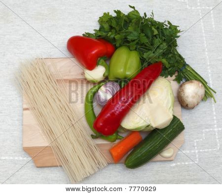 Pasta And Vegtables