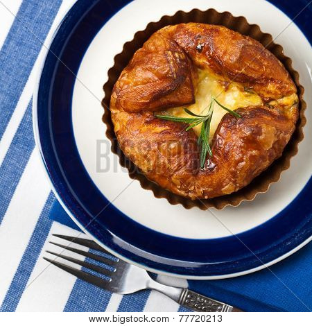 Baked Egg Souffle