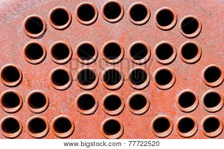 Old Machinery Vent Holes