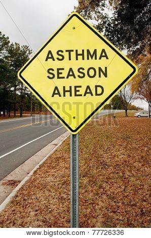 Asthma Season Ahead