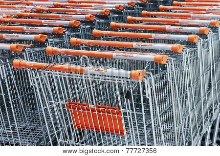 Shopping Carts Hypermarket Obi