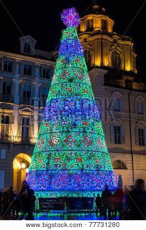 Christmas Tree in Turin