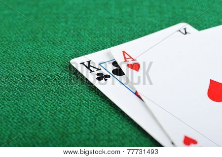 Black Jack On Green