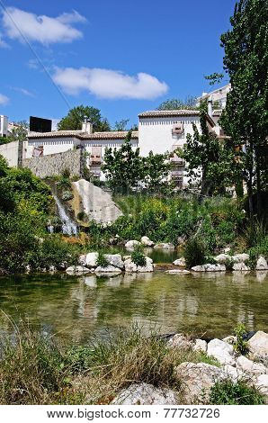 Village stream, Velez Blanco.