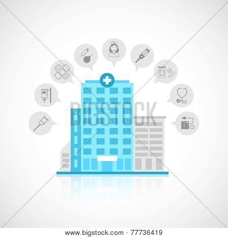 Medical building flat