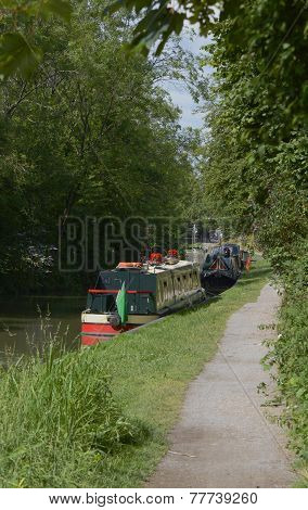 Kennet And Avon Canal At Devizes. England