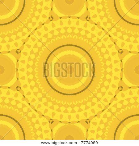 Sunflower symmetric texture