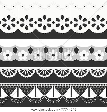 Collection Seamless Ribbons - Festoons
