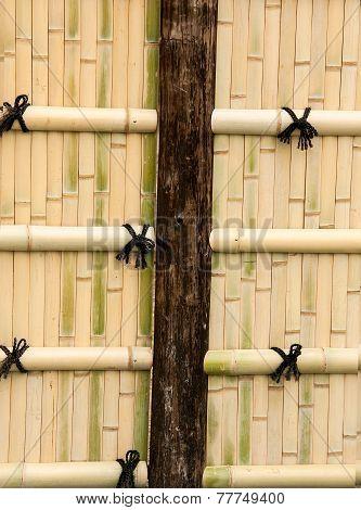 Bamboo Walls.