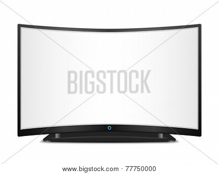 Tv With Curved Screen